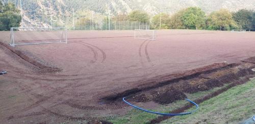 Bauabschnitt Drainage / Beregnungsanlage